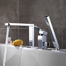 Faucet for Home Chrome Brass Basin Faucet Tap Deck