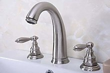 Faucet for Home Faucet Brushed Nickel Bathroom