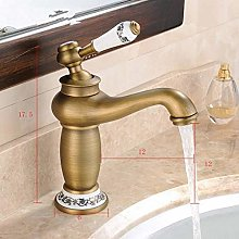 Faucet New Antique Bronze Brass Mixer Tap with