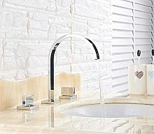 Faucet Polished Chrome Sink Faucets Deck Mounted