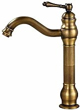 Faucet Taps Antique Brass Boat Deck Mounted Mixer