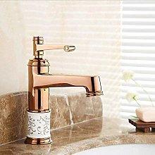 Faucets Bathroom Basin Faucets Chrome/Golden/Rose