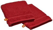 Faucher Wash Mitt Set Ebern Designs Colour: Dark