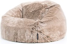 Faux Fur Bean Bag Chair Isabelline Upholstery