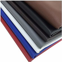 Faux Leather Fabric Leatherette PU Textured for