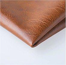 Faux Leather Fabric Vintage Texture 140x100cm