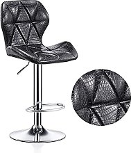 Faux Leather Upholstery Adjustable Swivel Gas Lift