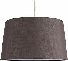 Faux Linen Shades Ceiling Pendant Lamp Shades -