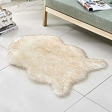 Faux Sheepskin Carpets,Quirky Shaped Shape With