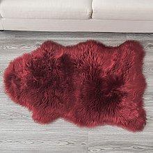 Faux Sheepskin Fur Rug Luxury Soft Chair Cover