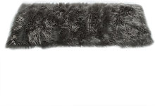 Faux Sheepskin Wool Soft Rug Long Hair Decorative