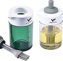 FAVIA Olive Oil Dispenser Bottle Non-Drip Spout