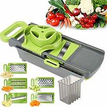 FAVIA Vegetable Chopper Mandoline Slicer Food