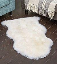 FB FunkyBuys® Soft Sheepskin Cream/Ivory Style