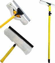 FB FunkyBuys Telescopic Window Cleaner –