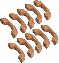 FBSHOP(TM) 10pcs Wooden Drawer Knobs Pulls Handles