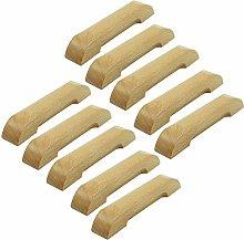 FBSHOP(TM) 128mm Wooden Drawer Knobs Pulls Handles