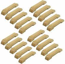 FBSHOP(TM) 20pcs Wood Drawer Knob, Cabinet Pulls