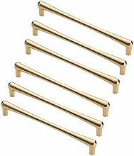 FBSHOP(TM) 6pcs Golden Modern Retro Drawer Knob