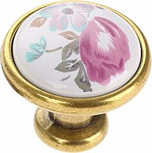 FBSHOP(TM)) Set of 10 French Flair Ceramic Knobs -