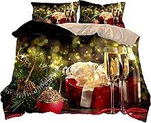 FBYYJK Christmas Quilt - Gift Box Christmas