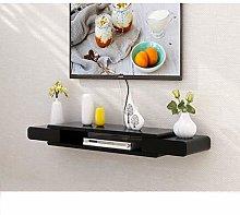 Fcsfsf Black Floating Wall Frame Tv Cabinet Tv