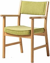 FCSFSF Solid Wood Dining Chair,vintage Armchair
