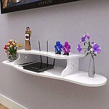 Fcsfsf Tv Rack WiFi Shelf Free Punching Wall