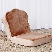 FCXBQ Folding bed dormitory backrest chair bedroom