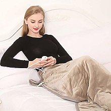 FCYQBF Winter Electric Blanket Soft Plush Blanket