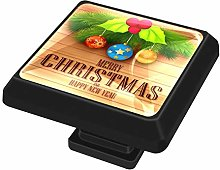 FCZ 3 Pieces Christmas Element With Message On
