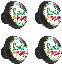 FCZ 4 Pieces Cinco De Mayo With Mexican Hat And