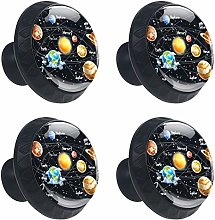 FCZ 4 Pieces Outer Space Solar System Planets