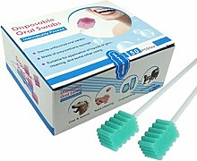 FDGBCF Box of 50pcs Oral Swabs Disposable Elderly