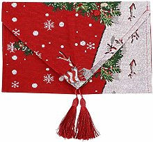 Fdit Christmas Table Runner, Christmas Table