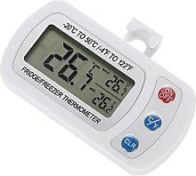 Fdit Digital Freezer/Fridge Thermometer Waterproof