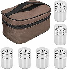 Fditt 6Pcs Spice Containers Spice Shaker Pourer