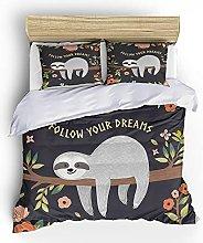 FDONTR 3D Bedclothes home textiles 2/3 pcs Cartoon