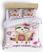FDONTR 3D bedding set home textiles 2/3pcs Cartoon