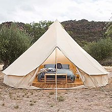FDQNDXF 3M-6M Bell Camping Tent, Outdoor Bell