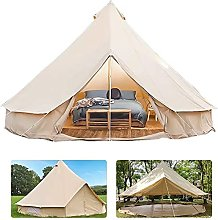 FDQNDXF Outdoor Bell Tents, Bell Camping Tent,