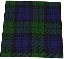 Feamo 20 Inch Cloth Napkins,Black Watch Tartan