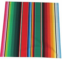 Feamo 20 Inch Cloth Napkins,Mexican Rug Serape