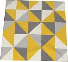 Feamo 20 Inch Cloth Napkins,Retro Triangle In