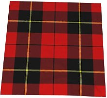 Feamo 20 Inch Cloth Napkins,Wallace Clan Red
