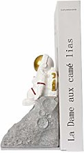 FEANG Desk Astronaut Bookends Resin Spaceman