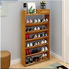FEANG Shoe Rack 7-Tiers Shoe Rack with Drawer Free