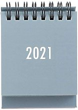 FEANG Stand Up Table Calendar 2021 Mini Desk