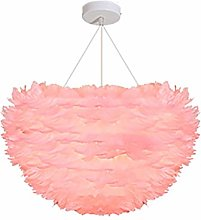 Feather Chandelier Living Room Creative Decorative
