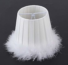 Feather Cloth Chandelier Pendant Lamp Lampshade